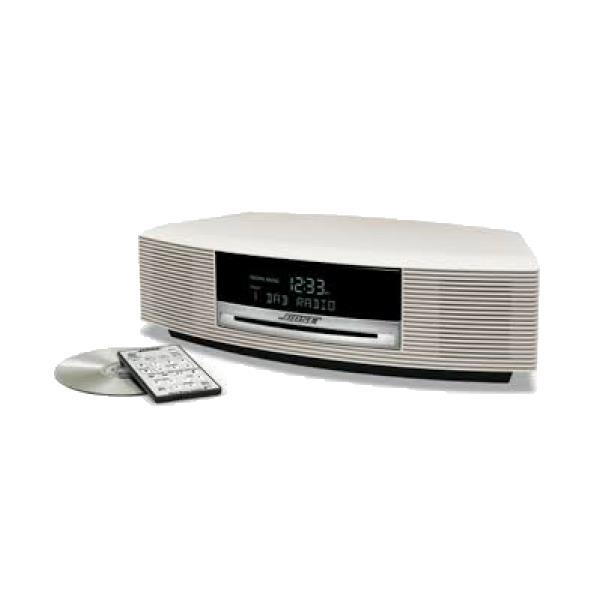 Vaughans Bose Wave Music System Iv Arctic White