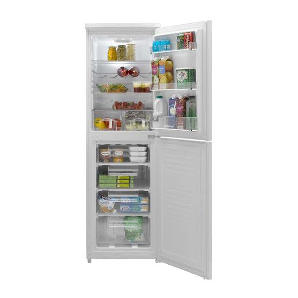 Vaughans Hoover Hsc574w 55cm Fridge Freezer White