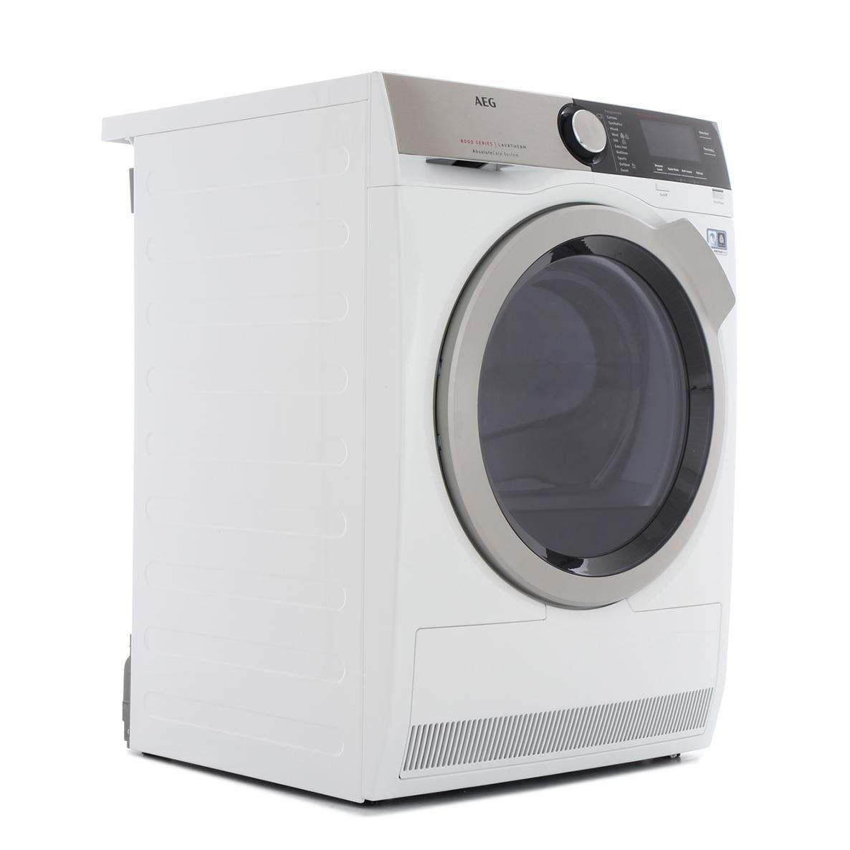 Vaughans Aeg T8dec946r Heat Pump Dryer White